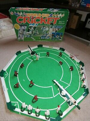 Vintage World Cup Cricket Game By Peter Pan With 2 Teams & In Original Box • 20£