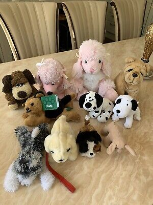 Soft Toy Bundle (11 Toys In Total) Theme - Dogs • 15£