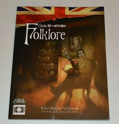 FOLKLORE CTHULHU BRITANNICA Cubicle Seven 7 RPG Call Of Cthulhu Chaosium • 90£