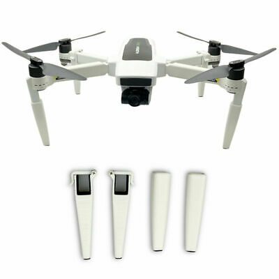 4 PCS Heightened Landing Gear Extended Leg Support For Hubsan Zino 2 Drone • 9£