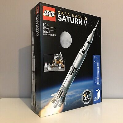Brand New Sealed Lego Ideas Set 21309 Nasa Apollo Saturn V Fast Postage • 209.89£