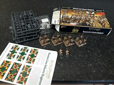 WARLORD 28MM CRIMEAN WAR COLLECTION 45xFIGURES RUSSIAN LINE INFANTRY • 0.99£