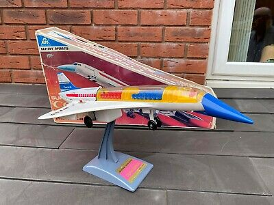 ALPS Japan Battery Operated Super Sonic Concorde In Its Original Box - Working  • 169.95£