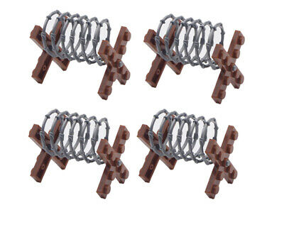 Barbed Wire Fence Military Army Soldier WW2 Barbwire Building Blocks Fits Lego  • 7.85£