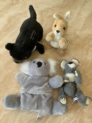 Soft Toy Bundle (4 Toys In Total) Theme - Australian Animals • 15£