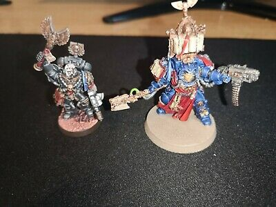 Warhammer 40k - Space Marine Librarian And Chaplain • 5£