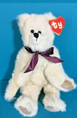 Ty Attic Treasures Cassie 6028 Teddy Bear 10  Plush 2nd Gen Tag Ribbon 1992 • 55£