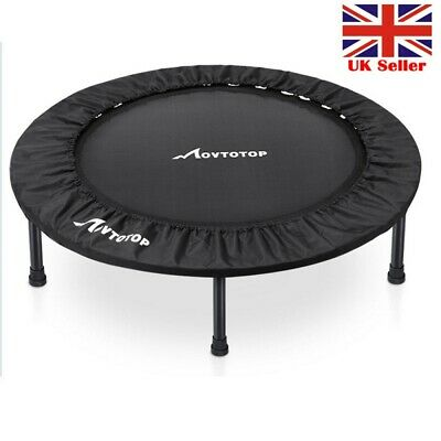 3FT MOVTOTOP Mini Trampoline Rebounder Fitness Exercise Gym Jumper Yoga Sporting • 49.98£