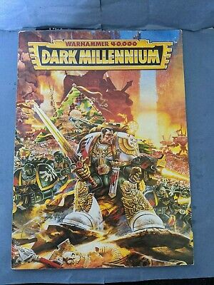 *RETRO* Dark Millenium, Warhammer 40k, 2nd Edition, Expansion (book Only) 1994. • 8.99£