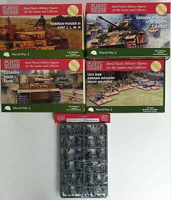 Plastic Soldier Company 1/72nd 20mm German Tanks & Infantry. WW2  • 0.99£