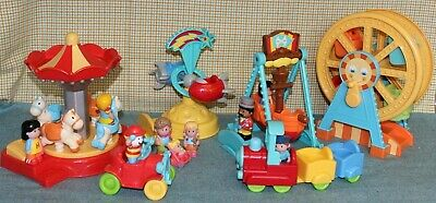 ELC Early Learning Center Happyland Funfair Toy Bundle With Sounds  • 25.99£