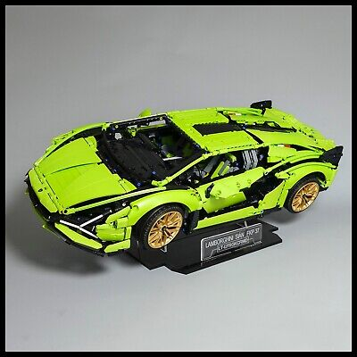 Lamborghini Sián FKP 37 Acrylic Display Stand For Lego Technic Model 42115 • 26.99£