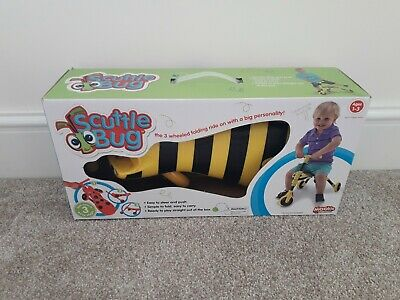 Scuttlebug Bumblebee Yellow And Black Ride On Toy • 9.99£