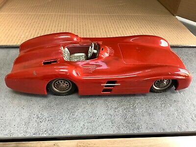 Vintage Tinplate Friction Mercedes Benz Sports By Neuhierl Of Germany • 46£