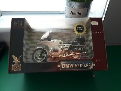 Vintage Hong Kong  Bmw R100rs Diecast And Plastic Model 1-12 Scale • 9.99£