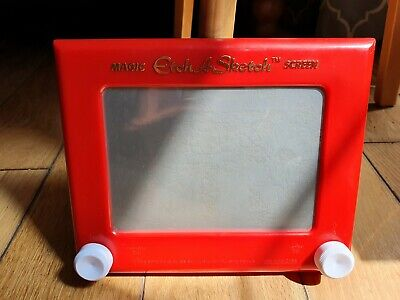 Magic Etch A Sketch 2013, Used Good Clean Working Condition, Lots Of Retro Fun! • 5£