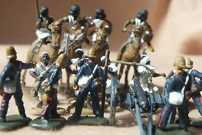 1/72 Painted Colonial Era British Artillery, Dervish Warriors And Camel Cavalry. • 19£
