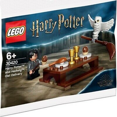 LEGO 30420 Harry Potter & Hedwig Owl Delivery - Polybag - BNIP - Sealed - New • 8.45£