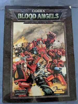 Warhammer 40k, 3rd Edition, Codex:  Blood Angels (1998) • 2.99£