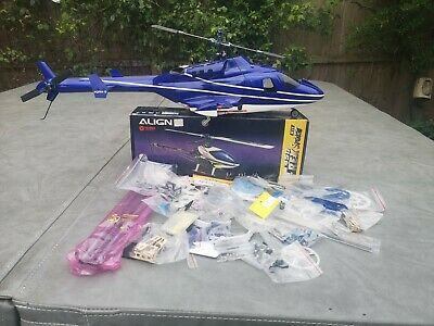 Align Trex 450 Helicopter With Airwolf Bodyshell ARTF • 200£