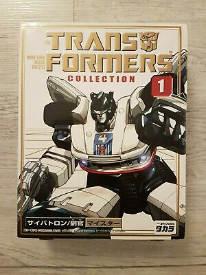 G1 Transformers Takara Collection 01 Jazz / Meister. Boxed. Complete • 65£
