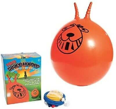 Exercise Retro Space Hopper Play Ball Toy Kids Adult Game 60cm With Pump  • 11.85£