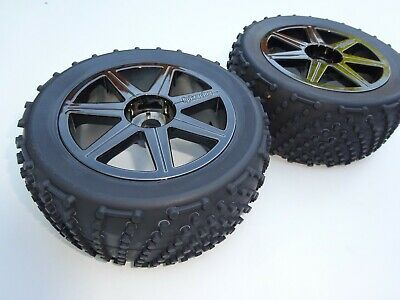 Nitro 1/8 Rc Truggy Hpi Trophy 4.6 Pair Of Shredder Wheels New • 23.99£