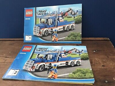 Lego City 60056 Tow Truck Instruction Manuals • 5£