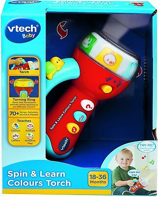 Spin And Learn Colours Torch  • 14.99£