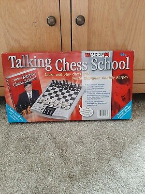 Talking Chess School With ANATOLY KARPOV Chess Book Wit 198 Diagrams Included • 22.95£