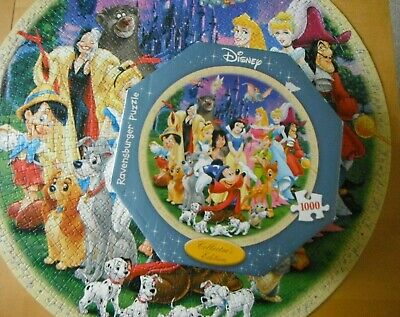 Ravensburger  1000 Piece Jigsaw Puzzle Disney  Collector's Edition  Complete • 14.99£