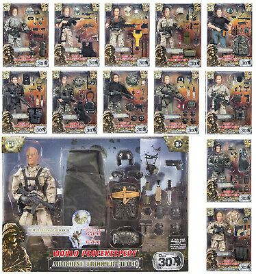 World Peacekeepers 12  Action Figures Military Army Action Figures Or Halo BNIB • 19.99£