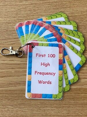 First 100 High Frequency Words      Flashcards Primary School Key Stages • 5.95£