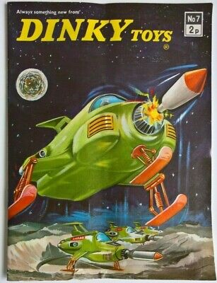 Original 1971 - DINKY TOYS No. 7 Catalogue / Brochure - Meccano Tri-ang Ltd. • 14.95£