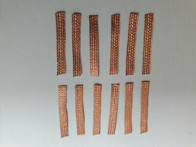 PACK OF 12 NINCO (80102) 1:32 Slot Car 100% COPPER Pick Up Braids / Brushes • 2.99£