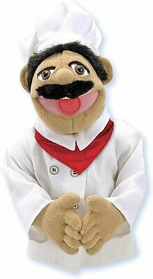 Chef PUPPET ~ Chef Pee Pee ~ Melissa & And Doug #40353 • 23.99£