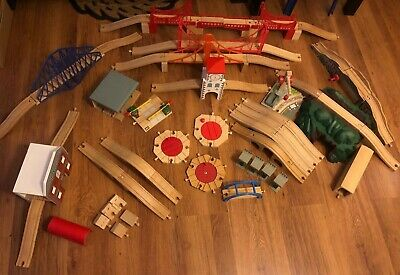 Selection Of Accessories For Brio / Wooden Train Track With Combined Postage • 10£