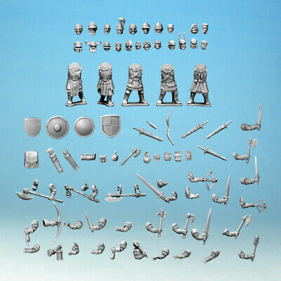 Frostgrave Knights Sprue / Parts   -  Fantasy  - 28mm  • 8.55£