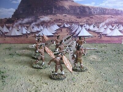 Call To Arms 1:32  Zulu Warriors  1879 Painted Toy Soldiers • 18£