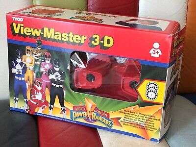 Mighty Morphin Power Rangers - Tyco View-master 3-d Gift Set - Boxed - 1994 - • 29.99£