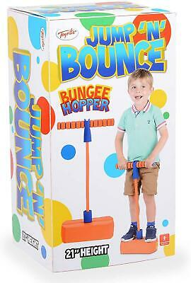 Bungee Hopper Soft Pogo Stick Jumping Exercise Toy Indoor Outdoor For Kids  • 13.11£