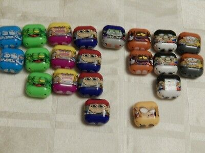 Job Lot Of Square X 21 Mighty Beanz! Jumping Beans! Square Bean! Bean • 70£