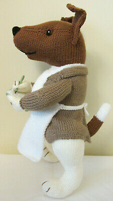 Mr Pickle's - A New Hand Knitted Soft Toy Terrier Dog • 22.95£