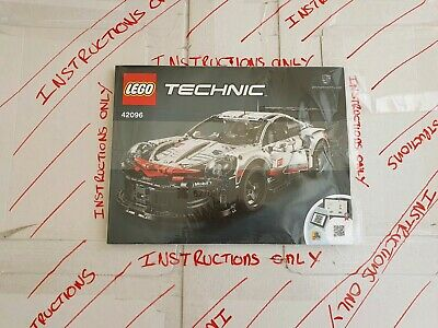 Lego Technic Model Porsch 42096 ☆INSTRUCTIONS ONLY ☆ NEW • 6£