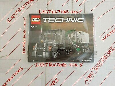 Lego Technic Mac Truck Anthem 42078 ☆INSTRUCTIONS ONLY ☆ NEW • 12.49£
