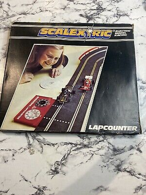 Scalextric Lap Counter Track 1980's -  Mechanical Counter - C277 Vintage BOXED • 3.50£