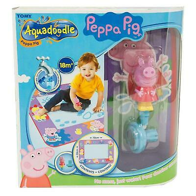 Tomy Aquadoodle Peppa Pig Water Doodle Mat, Colouring & Drawing Game, 18 Months+ • 23.33£