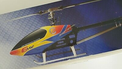 Brand New Compass Atom Flybarless 6HV 12S 600 Class Electric Heli Complete Kit • 325£