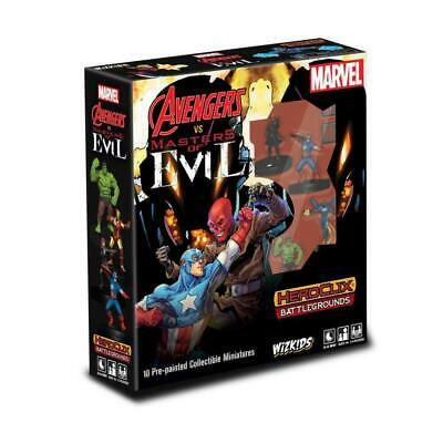 Marvel HeroClix Battlegrounds: Avengers Vs Masters Of Evil • 26.59£