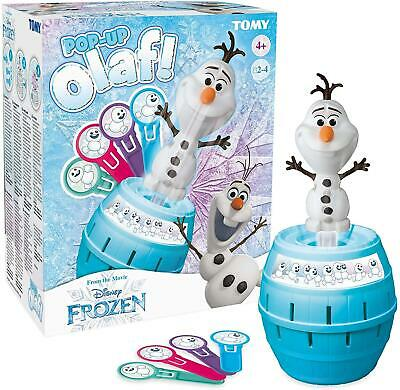 Tomy Official Frozen Pop Up Olaf Family Fun Game New & Sealed • 14.99£